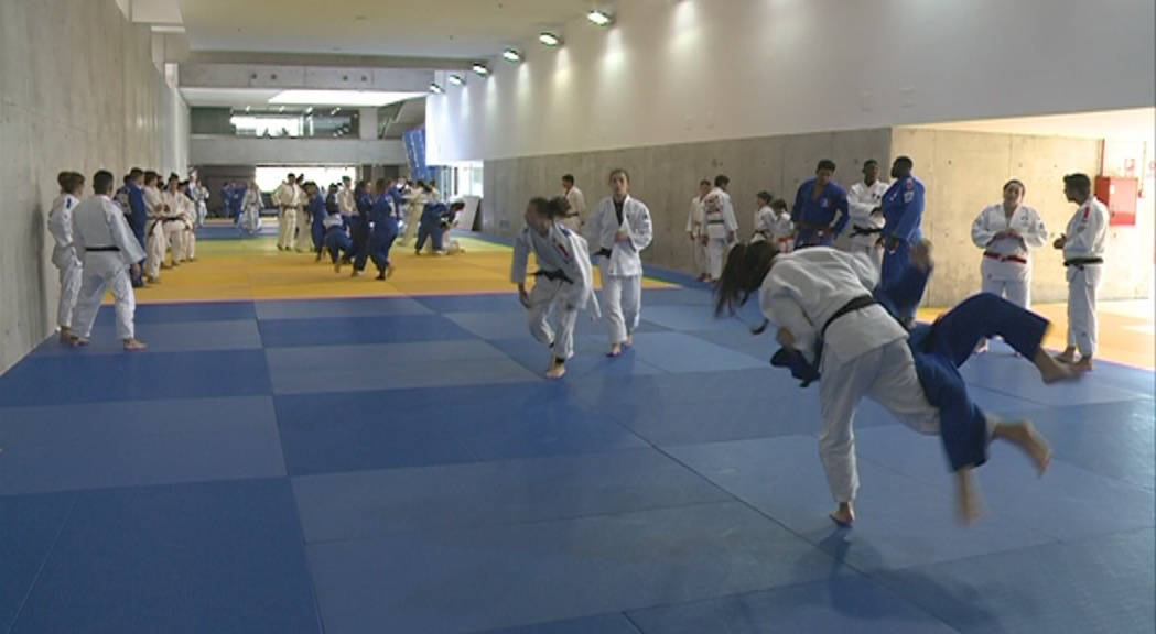Els representants en judo als Jocs del Mediterrani es preparen en les millors condicions