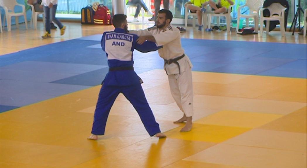 Quatre ors dels judoques andorrans al Grand Prix de Cahors, a França