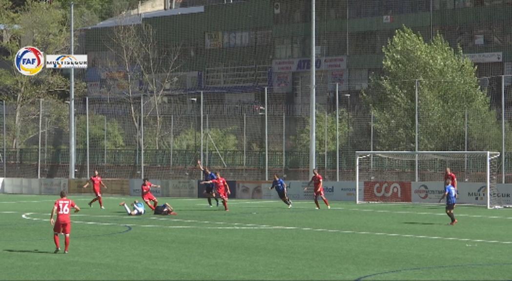 L'Inter d'Escaldes dona la sorpresa i se situa líder