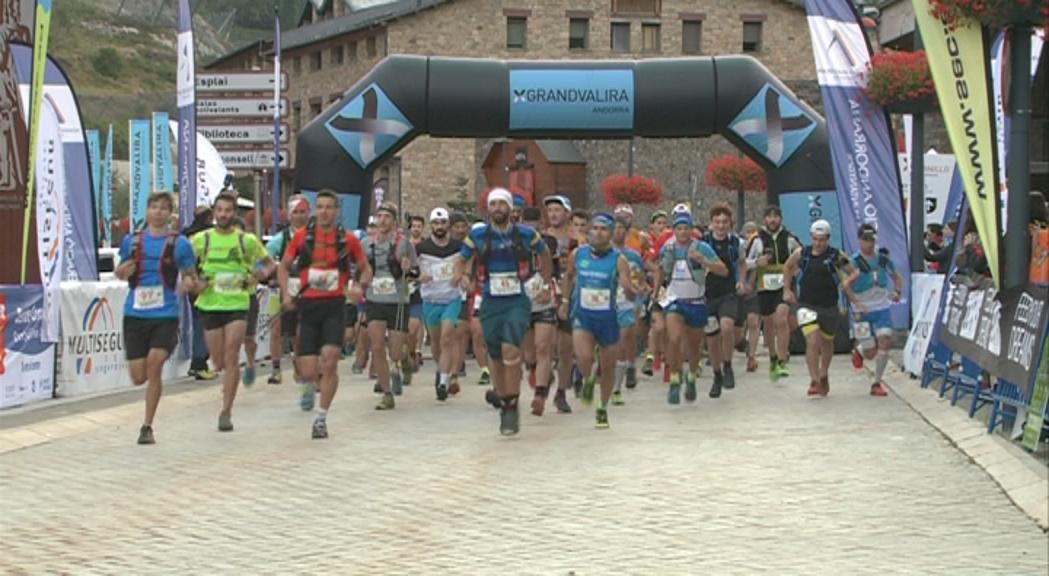 Victòria i nou rècord per a Guillem Campeny a la Marató de les Valls de Canillo