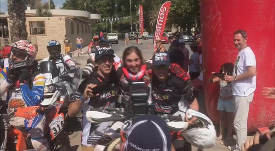 A Grècia, Margot Llobera ha finalitzat l'Hellas Rally