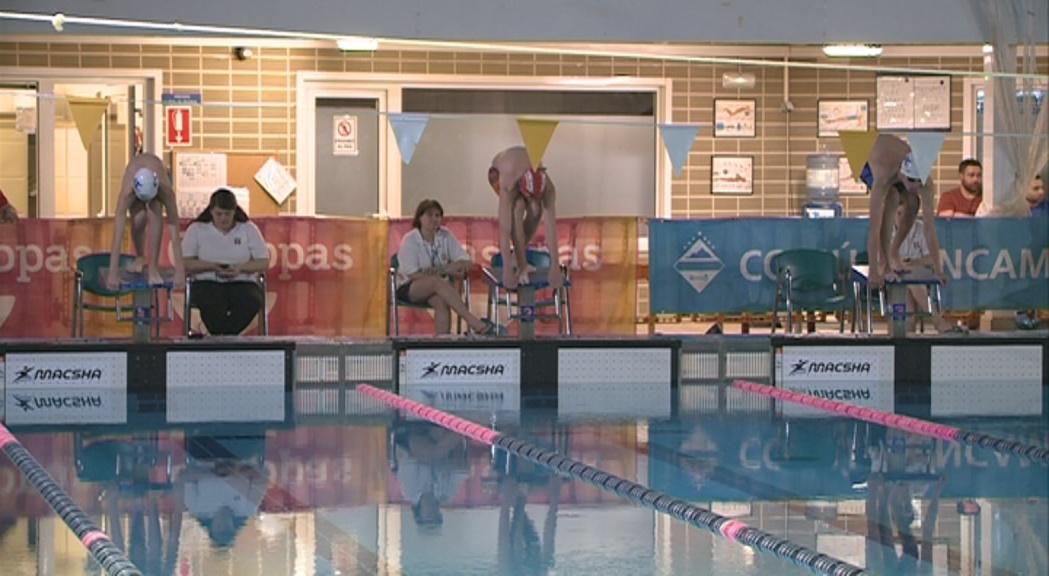 El míting de natació d'Encamp aplega uns 400 nedadors en el seu 25è aniversari