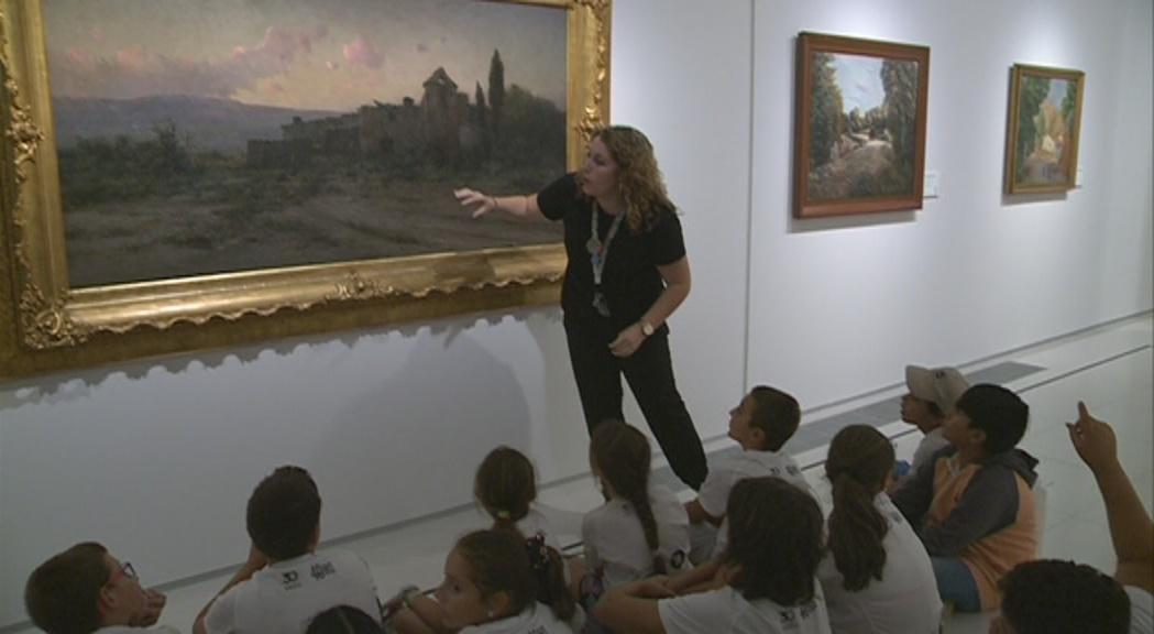 La segona mostra del Museu Carmen Thyssen tanca amb 11.000 visites