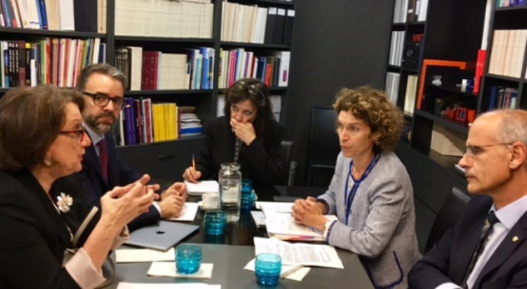 Martí i la secretària general iberoamericana remarquen l'oportunitat que suposa per Andorra la Cimera