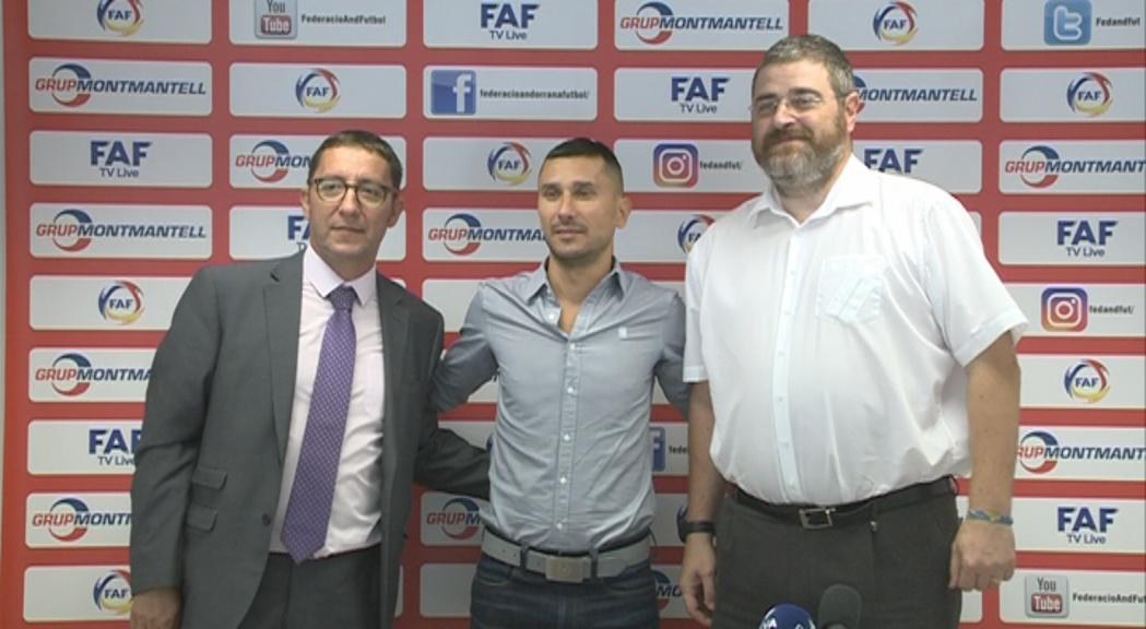 La Federació de Futbol suma dos nous suports