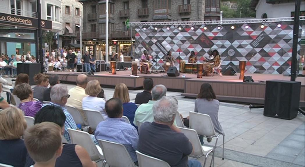 Escaldes-Engordany estudia instal·lar una vela per als concerts a la plaça Coprínceps