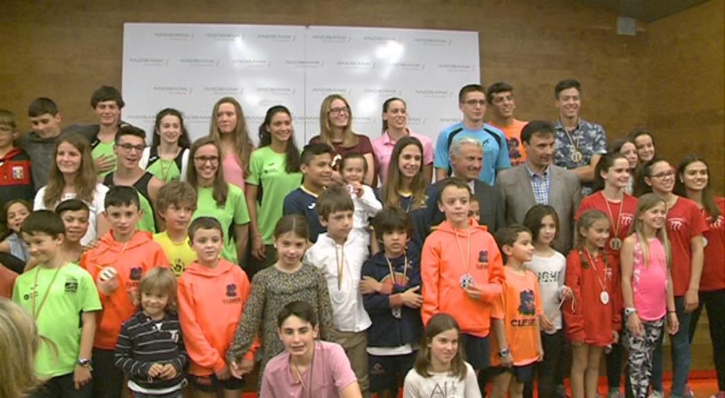 La natació lliura els premis de la Copa d'Andorra