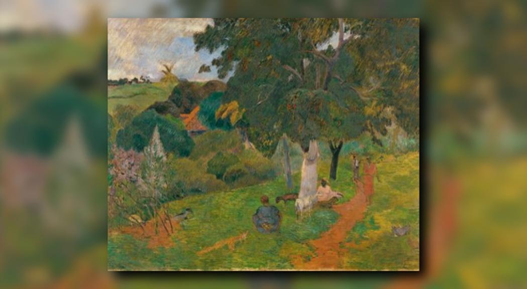"""El quadre """"Anades i tornades"""" de Gauguin centrarà la propera exposició del Thyssen"""