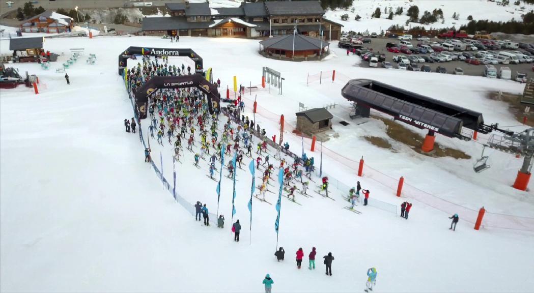 Cardona i Pinsach i Alonso i Quincoces, guanyadors de La Sportiva Andorra Skimo 10