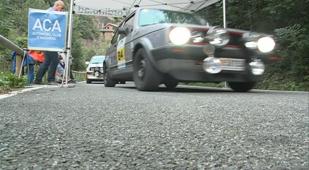 Valverde i Grandia, vencedors del 47è Ral·li d'Andorra Històric