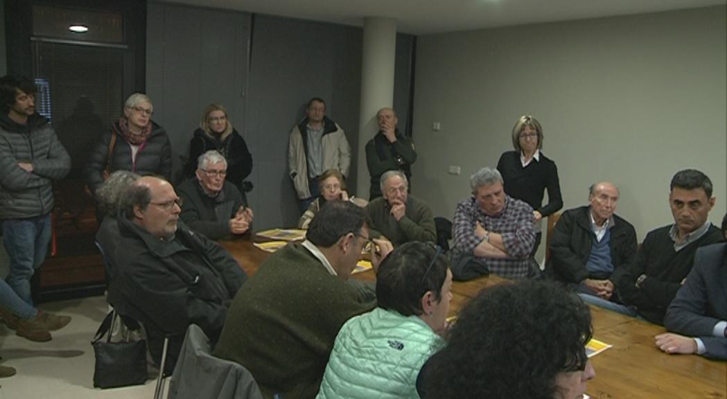 Els veïns de l'Aldosa, resignats amb les mesures per reduir l'impacte de l'ETR