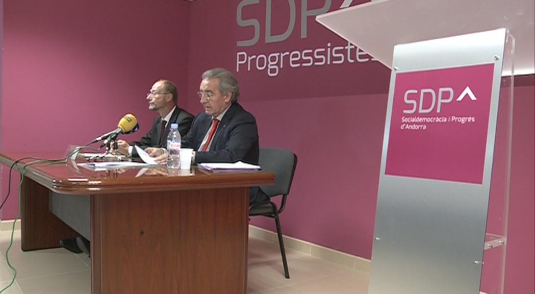 SDP aporta documentació per provar que Europa demana un subsidi d'atur