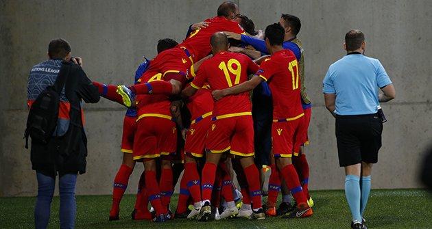 Andorra empata amb el Kazakhstan i continua invicta a la Lliga de les Nacions (1-1)