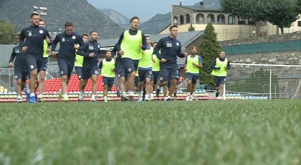 La selecció prepara l'estrena a la lliga de Nacions
