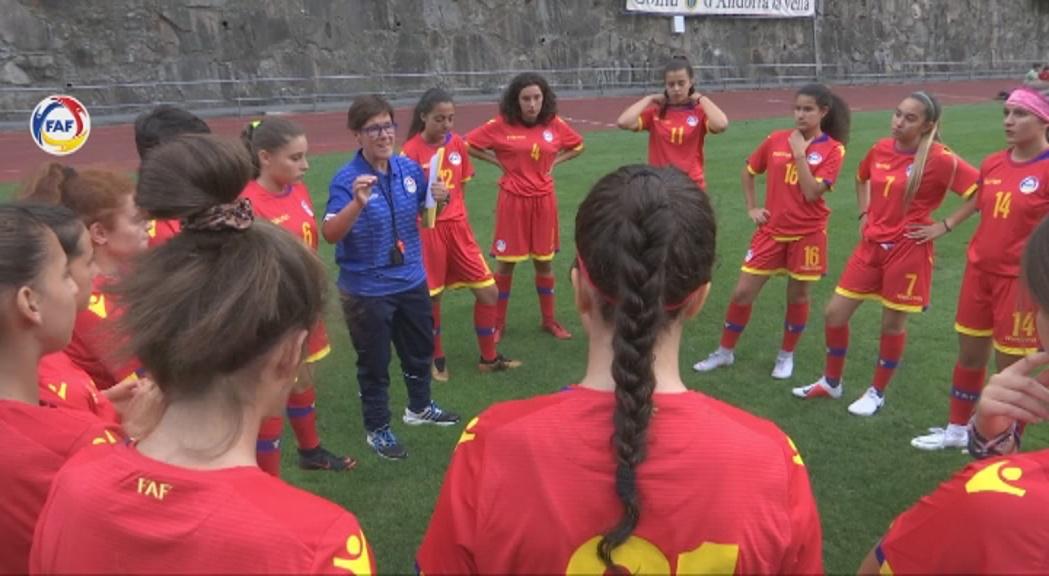 Estrena amarga de la selecció femeina sub-17 de futbol al Preeuropeu de Portugal