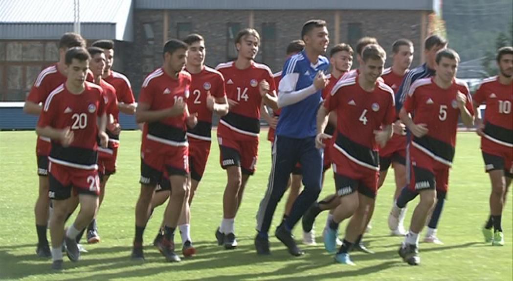 La sub-21 de futbol reprèn el Preeuropeu amb una doble sortida a Escòcia i Ucraïna