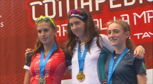 Andrea Sinfreu, campiona del món juvenil de curses de muntanya