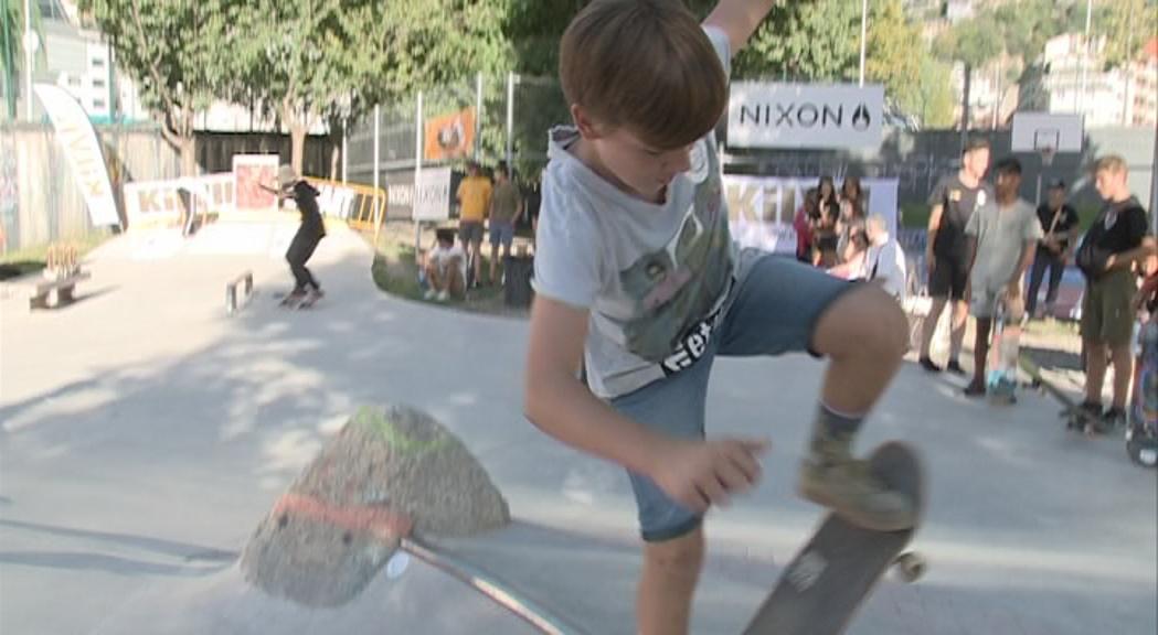 Civico, Cervós i Puig, campions de la Lliga de Skate