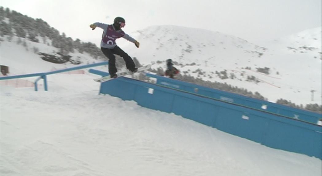 Dylan Thomas i Yuka Fujimori campions de la Total Fight d'snow