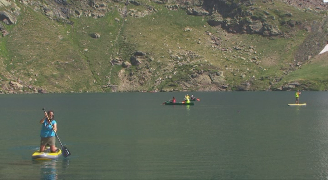 Ordino reconeix que cal replantejar l'activitat de canoes i paddle surf a Tristaina
