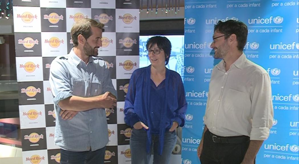 """Quim Salvat cedeix a Unicef la cançó """"Només tenen por"""" abans del concert d'aquest dijous"""