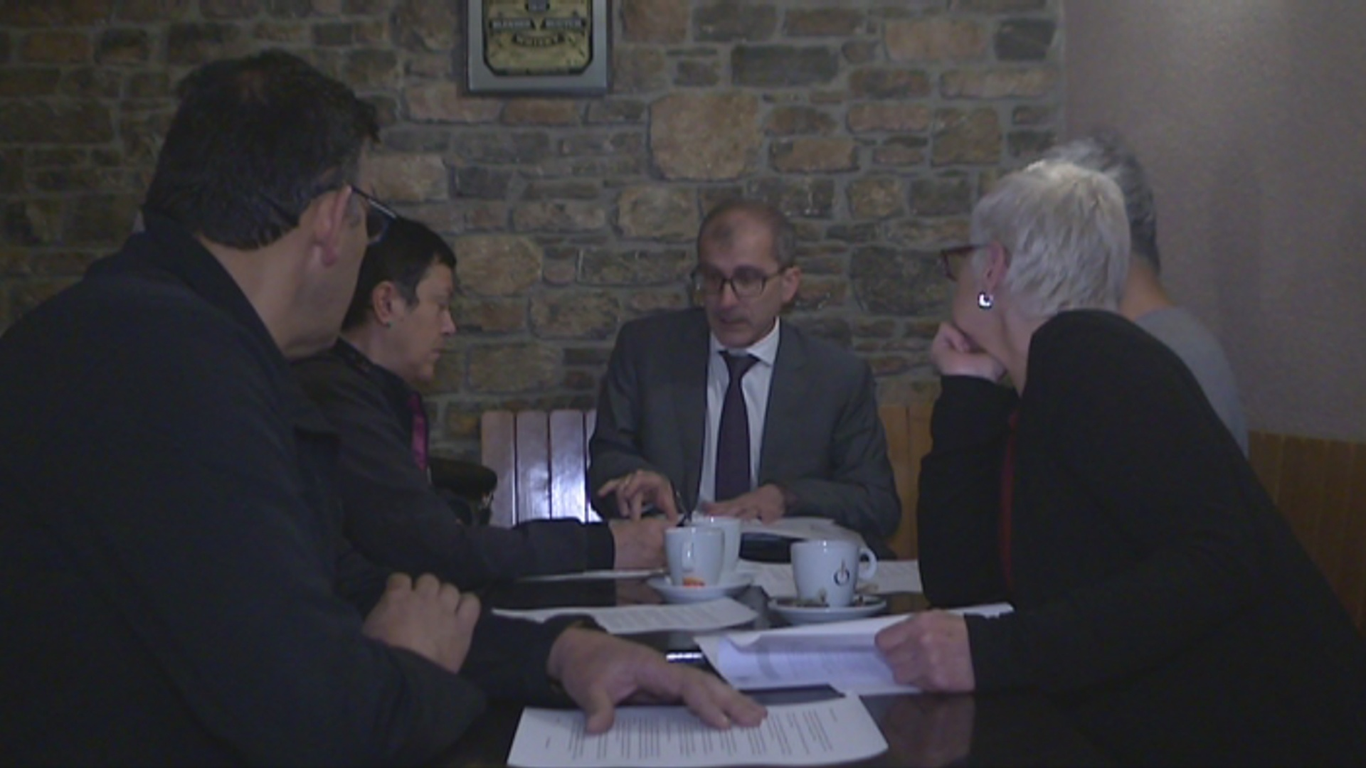 Els opositors a  l'ETR de l'Aldosa decidiran dijous si recorren contra la infraestructura