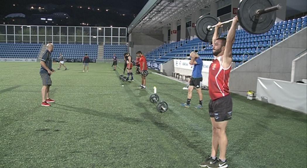 El VPC Andorra afina aspectes tàctics abans del debut a promoció d'honor