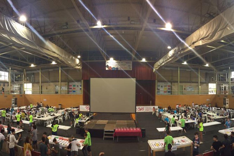 Vuitè i desè lloc per als equips andorrans en la final espanyola de la World Robot Olympiad