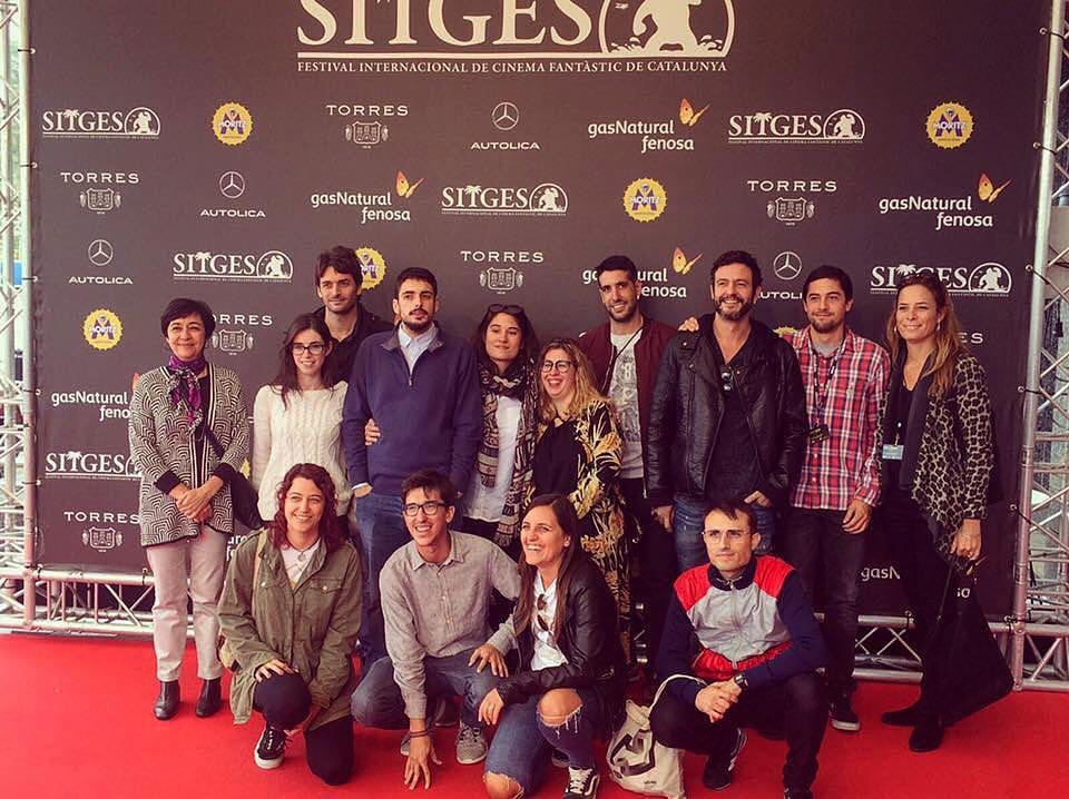 """L'equip de """"Wolves"""" fa realitat un somni amb la projecció del curt al Festival de Sitges"""