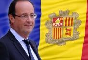 Visita del copríncep francès François Hollande