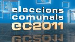 Així van ser les eleccions comunals del 2011