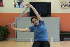Exercicis físics per a la gent gran