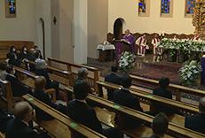 Missa funeral pels traspassats durant la pandèmia de la Covid-19