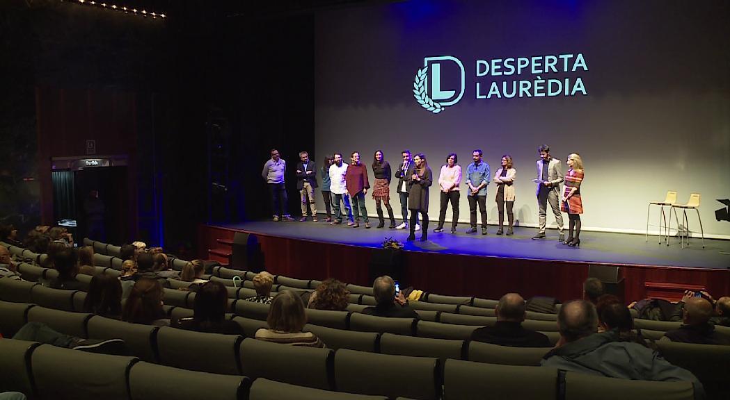 Desperta Laurèdia tanca la campanya amb el suport de la seva gent