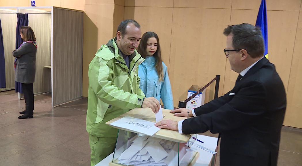 Jornada electoral tranquil·la al Centre de Congressos d'Andorra la Vella
