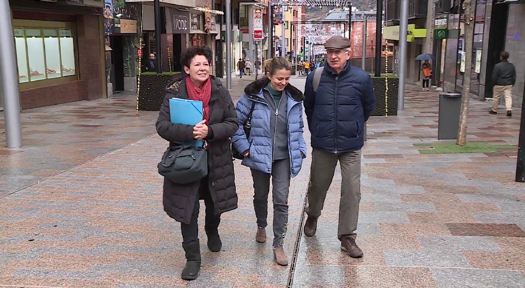Un viver d'empreses, accessos, realitat virtual i un bus parroquial al desè dia de campanya a Escaldes-Engordany