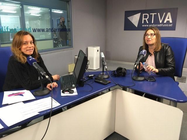 El Cafè de l'Ara i Aquí amb Sandra Tudó i Clàudia Borràs