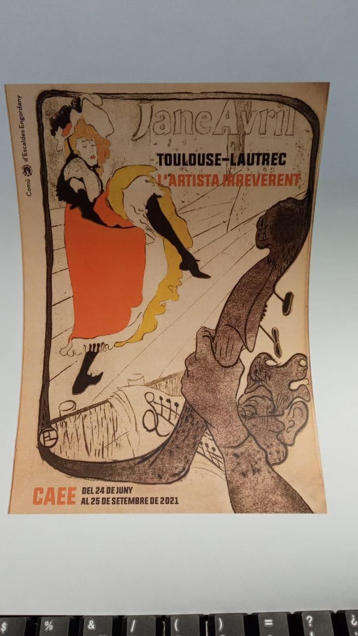 """En connexió amb Ruth Casabella i Rosa Perales: """"Toulouse-Lautrec"""""""