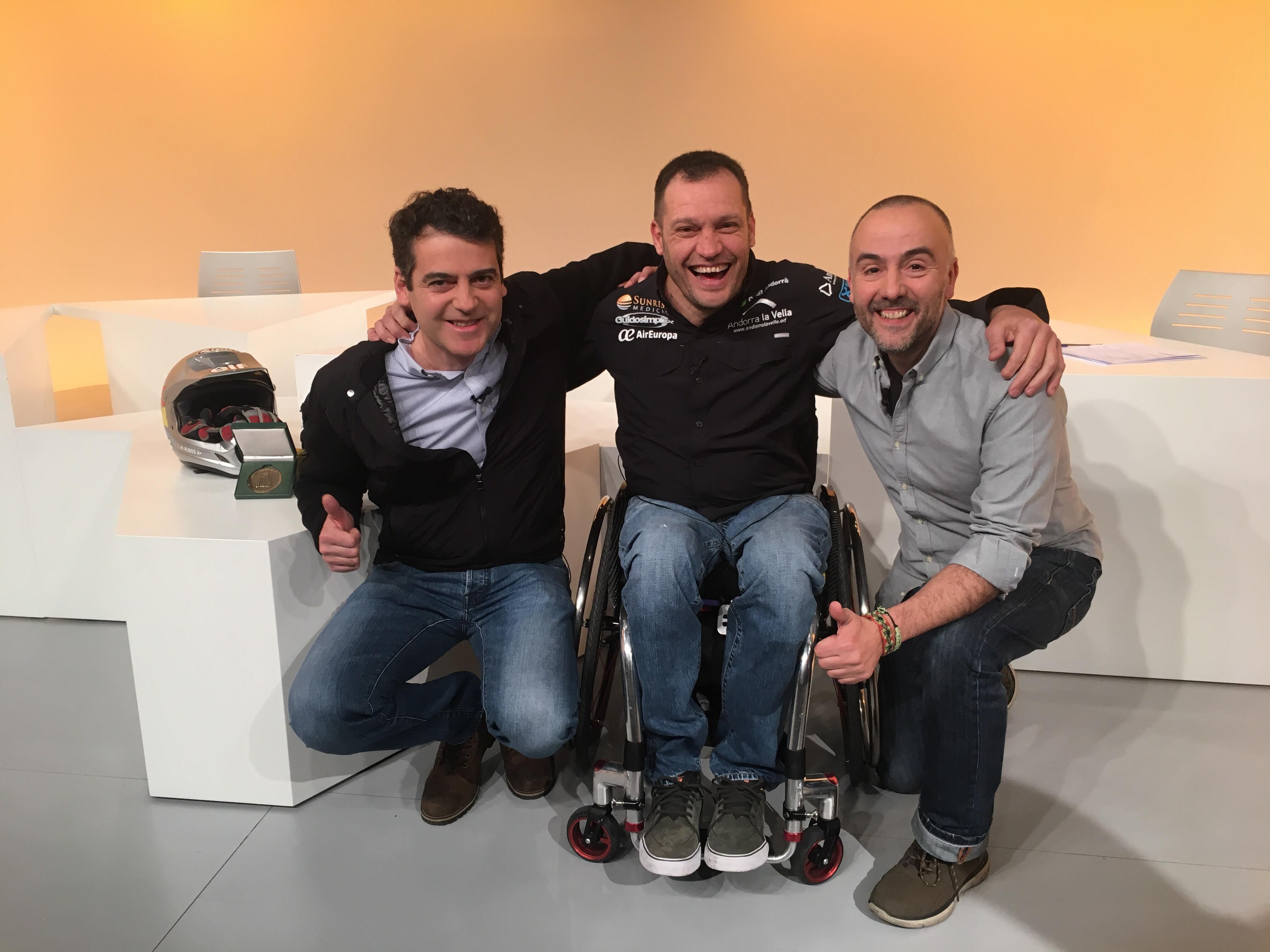 Dia E 1a part - Marcel Albós i Albert Llovera, els primers andorrans a acabar un Dakar