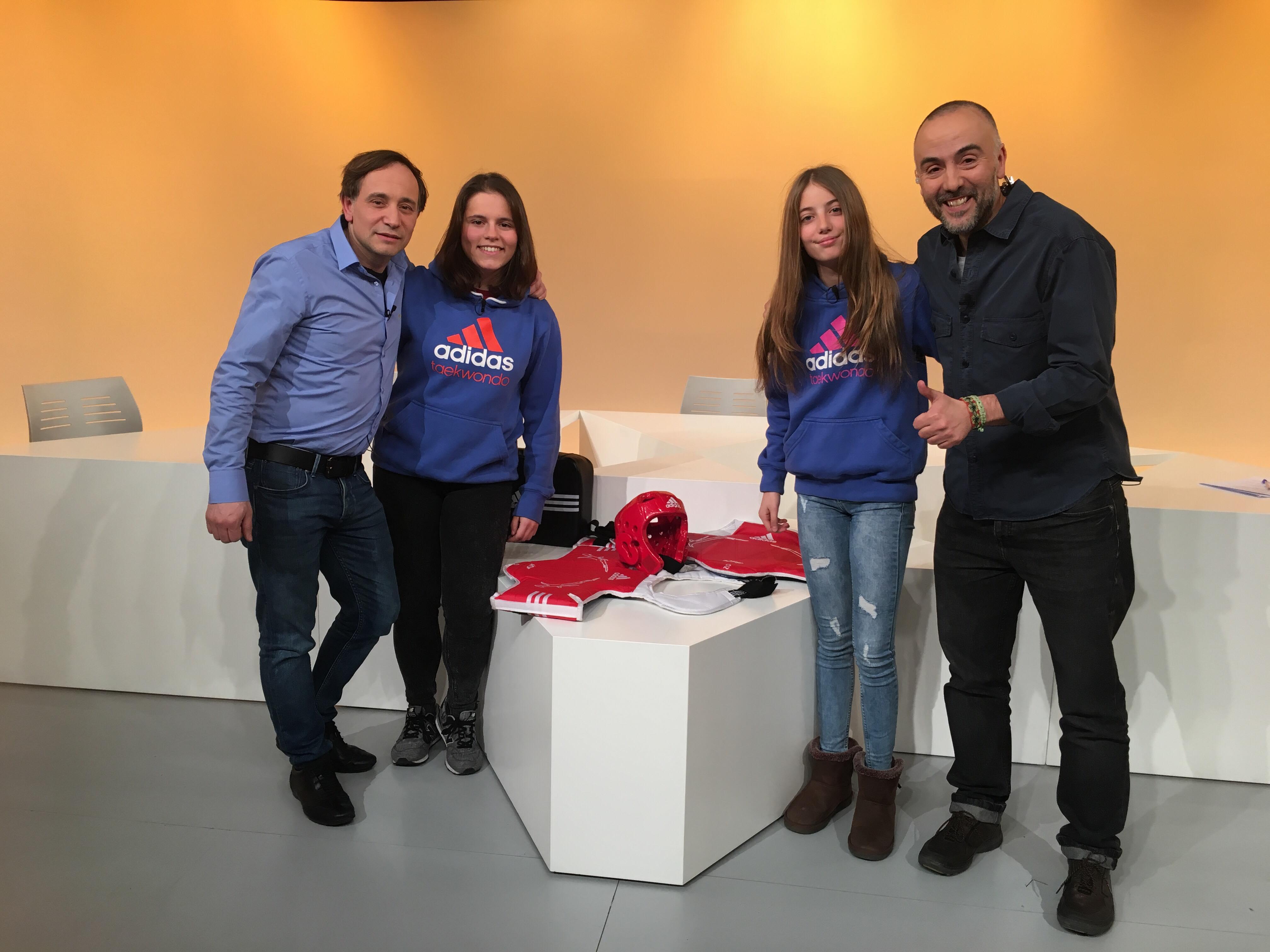 Dia E 3a Part - Naiara Liñán i Luz Zurdo, el futur del taekwondo andorrà
