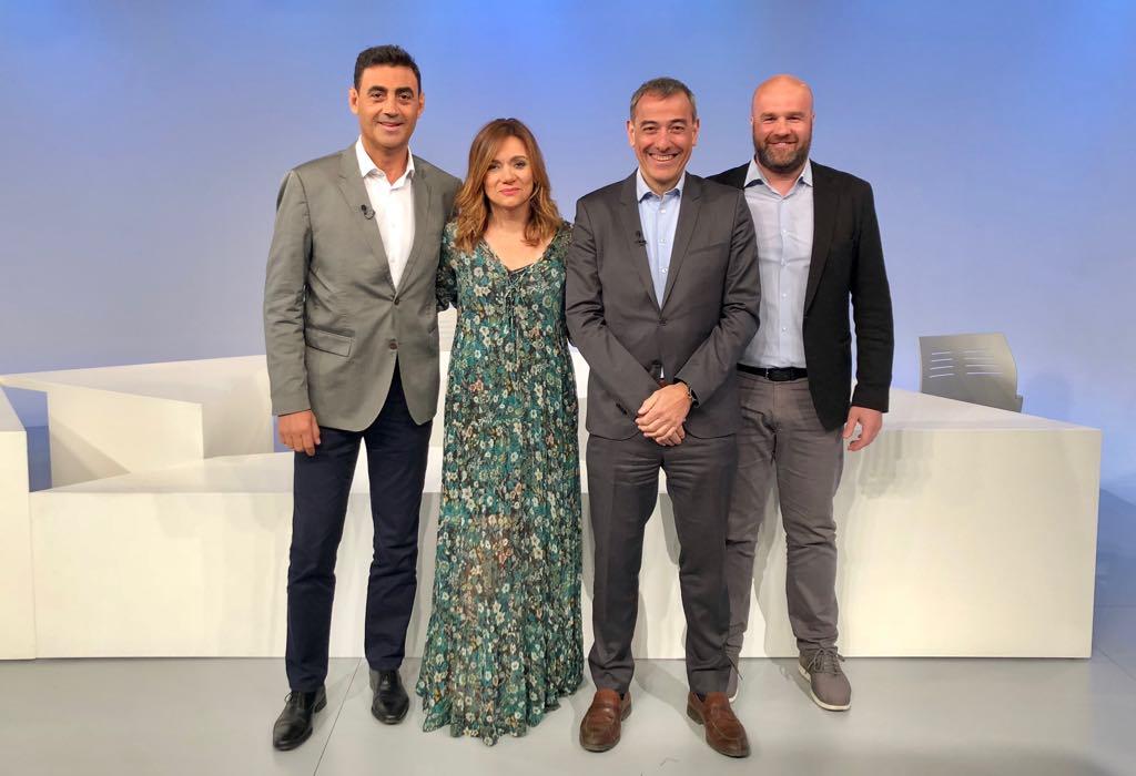 Tertúlia amb els cònsols menors David Palmitjavila, Marc Calvet i Raul Ferré