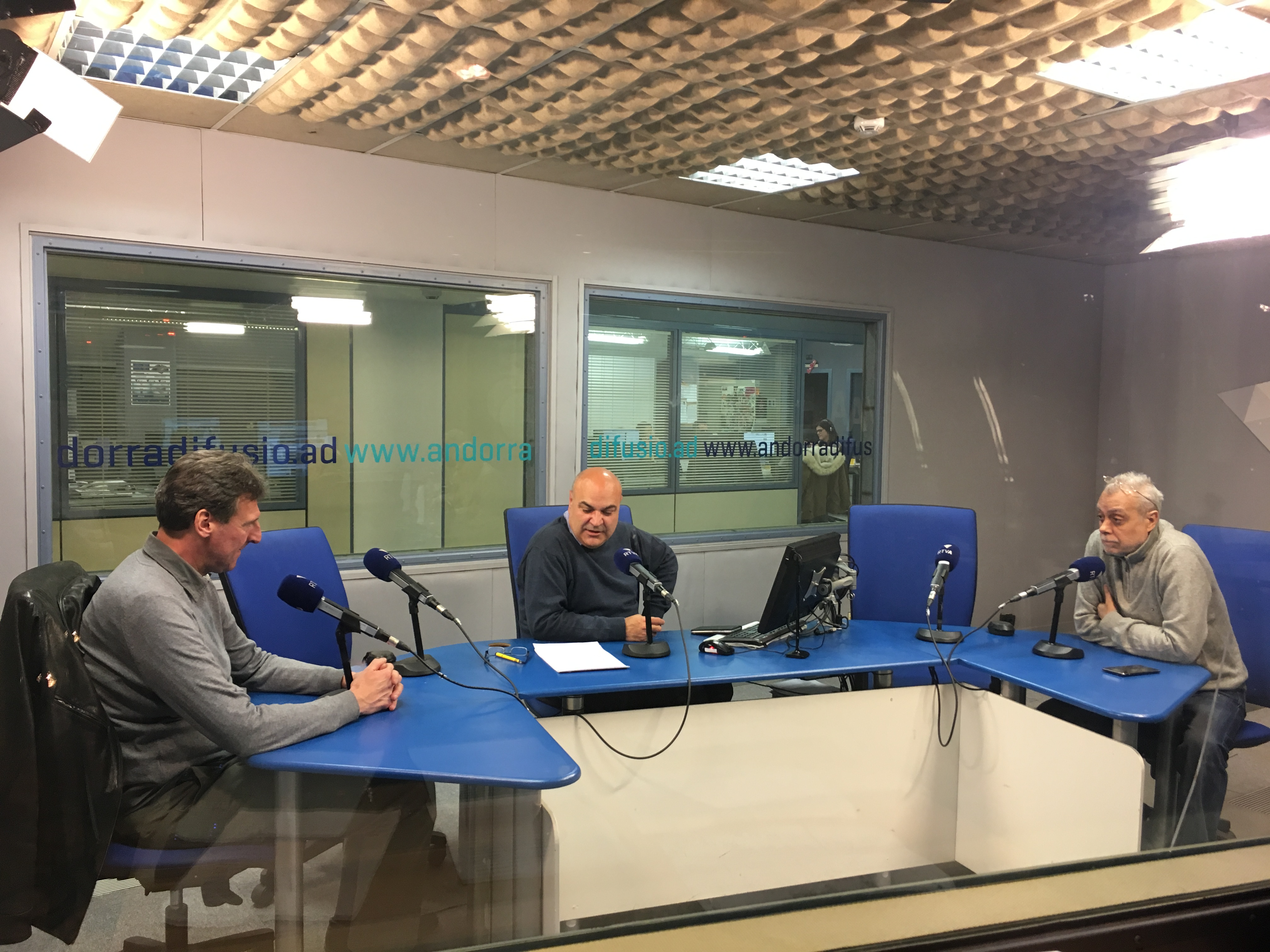 Tertúlia amb Jordi Barceló i Joan Ramon Sánchez 27 de juny del 2019