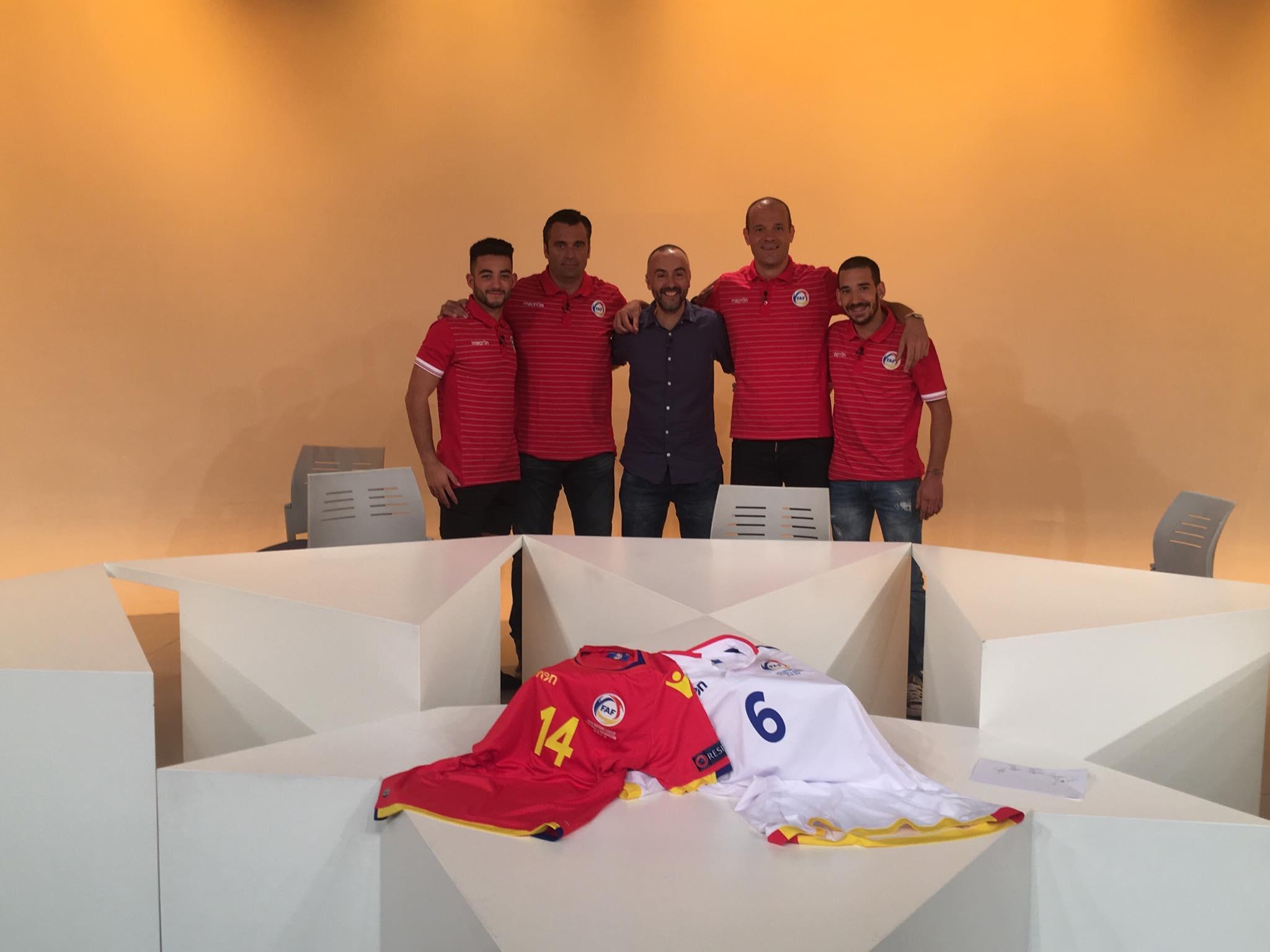 Dia E 2a Part - Taula rodona amb la selecció de futbol