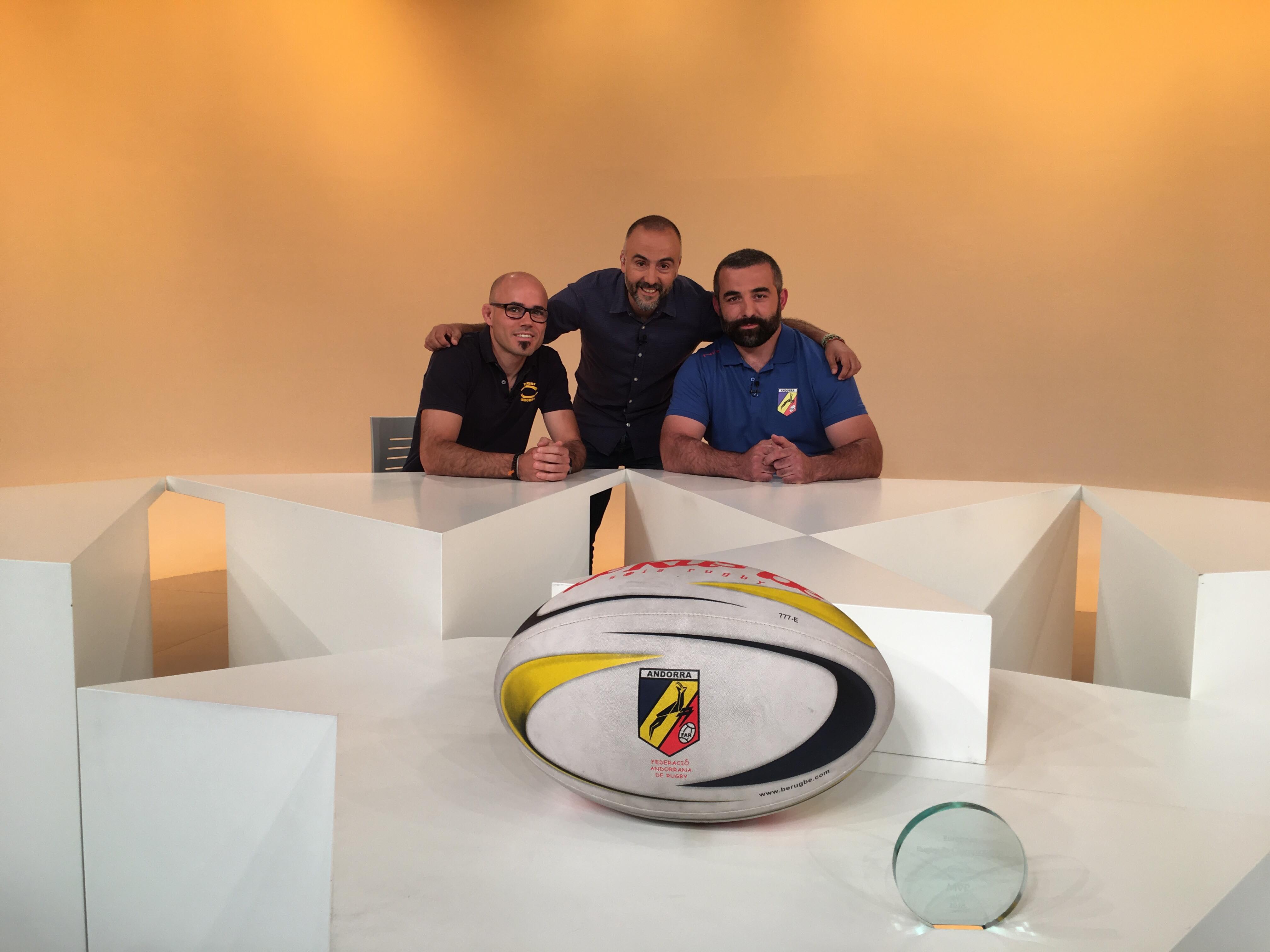 Dia E 1a Part - Entrevista als jugadors del VPC Andorra Marc Abelló i Edisher Jamrulidze
