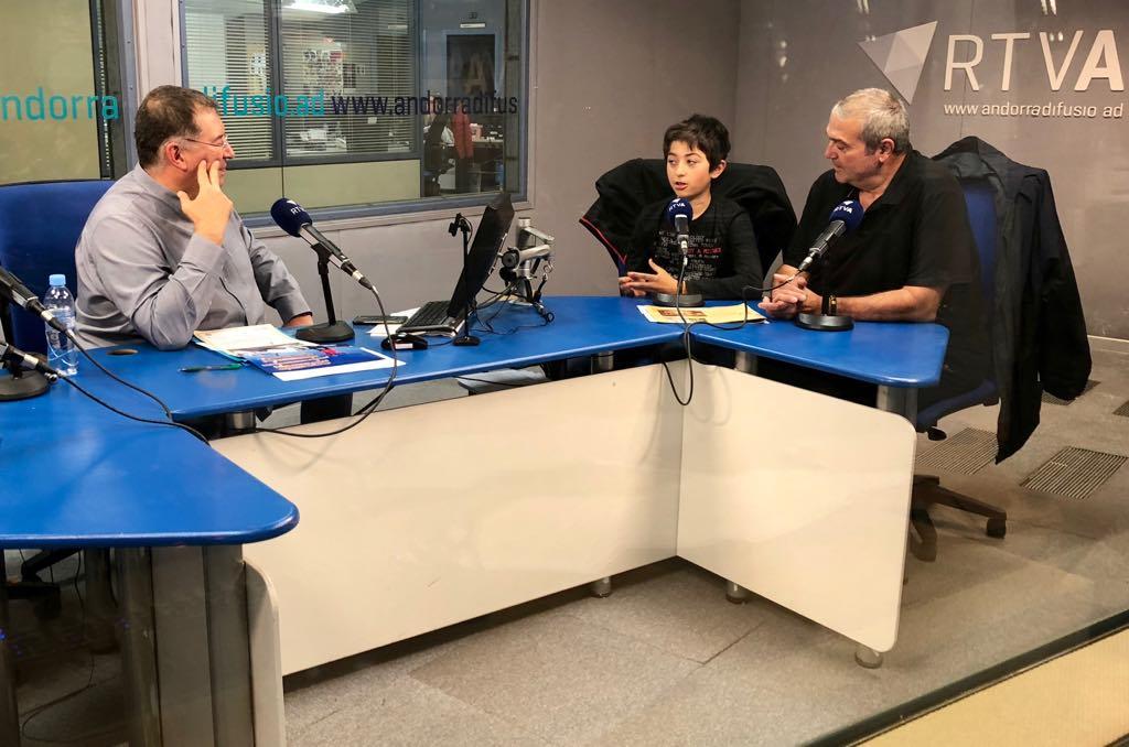 El cafè de l'Ara i aquí amb Andreu i Jaume Campmany