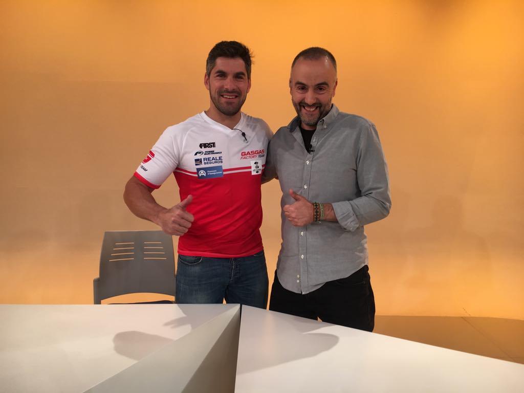 Dia E 3a Part - Cristian España rep el suport de pilots i amics després de la lesió que l'impedeix anar al Dakar
