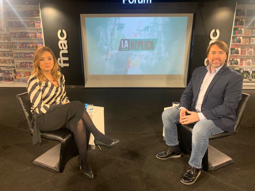 Entrevista al president del grup de Ciutadans Compromesos, Carles Naudi