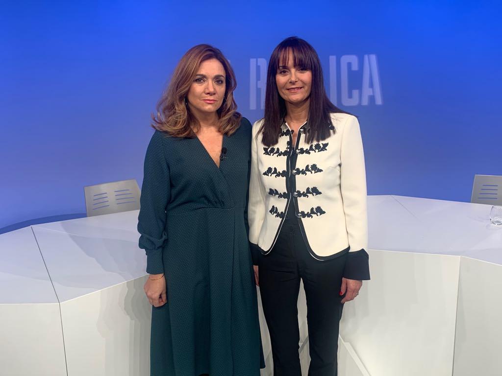 Entrevista a la presidenta suplent del grup demòcrata, Mònica Bonell