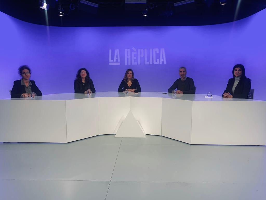 Tertúlia amb els consellers generals Judith Salazar, Maria Martisella, Marc Magallon i Carine Montaner