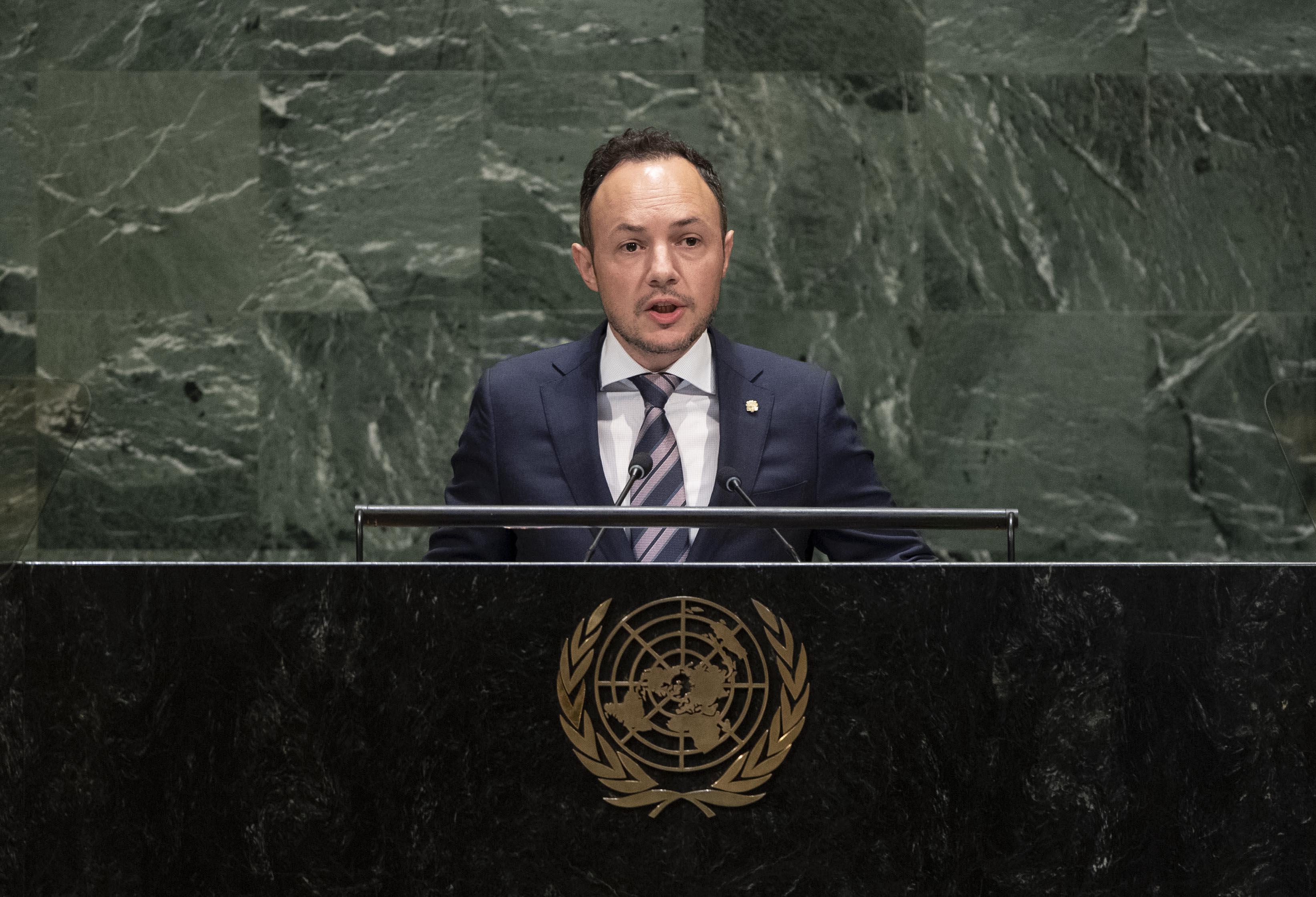 Discurs del cap de Govern a la 74a Assemblea General de l'ONU
